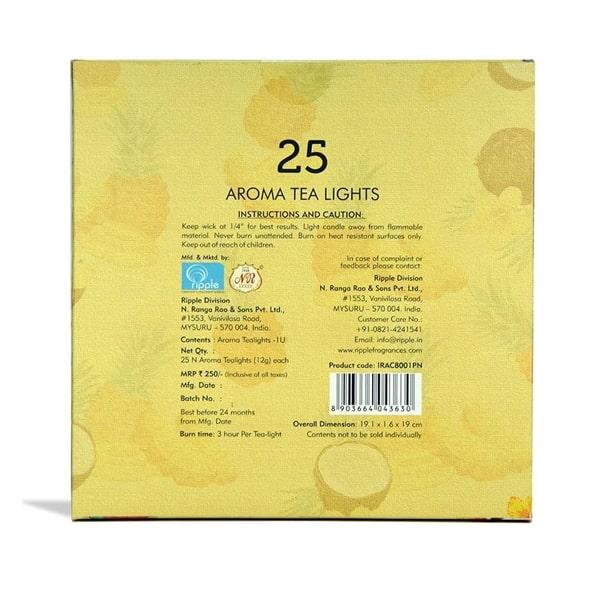 Iris Aroma Tealight Pinacolada Wax Candle