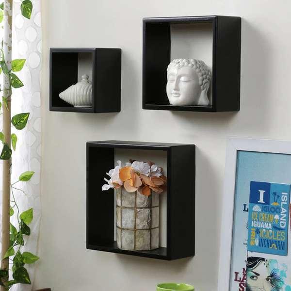 Wall Shelf Cube Set Of 3