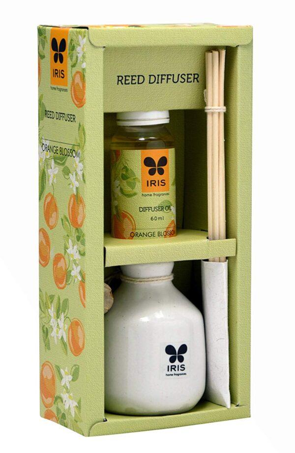 Reed Diffuser With Ceramic Pot Orange Blossom Home Fragrances
