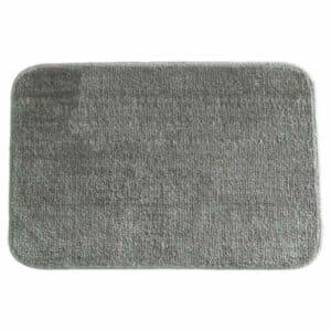 Anti Slip Soft Plushy Bath mat (Gray)