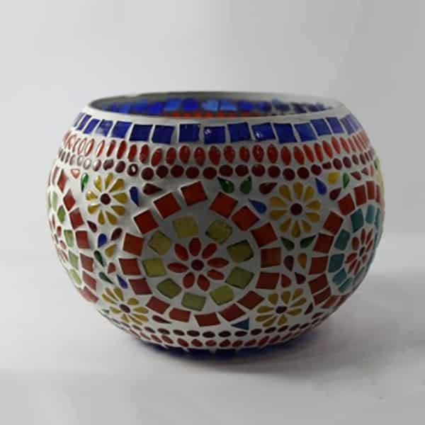 Round Mosaic Bowl