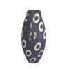 Silver pattern decorative vase (Purple)