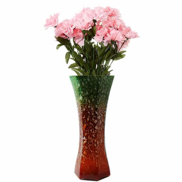 Glass Flower Vase For Home Decor