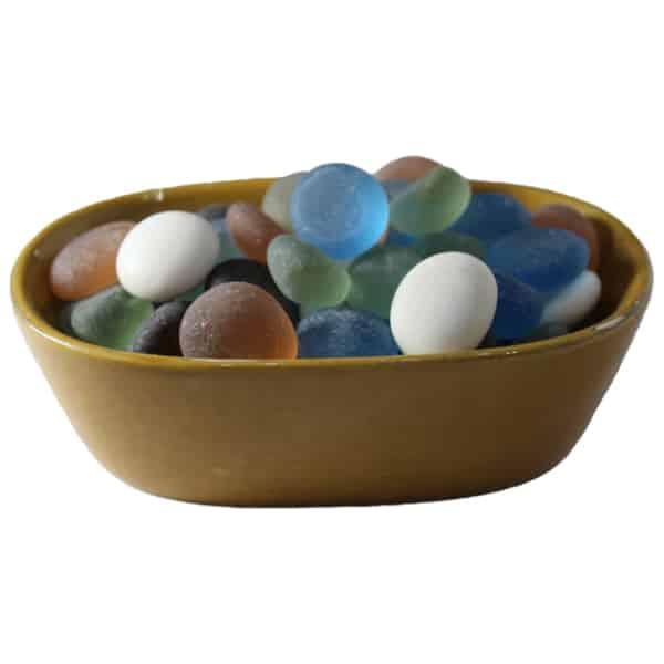 Multi Color Decorative Candy Polished Pebbles 500gm
