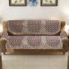 Poly cotton Sofa Cover Set (3+1+1)