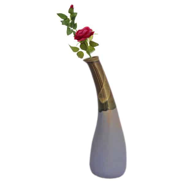 Ceramic Handmade Mughal Art Designer Bottle Neck Vase