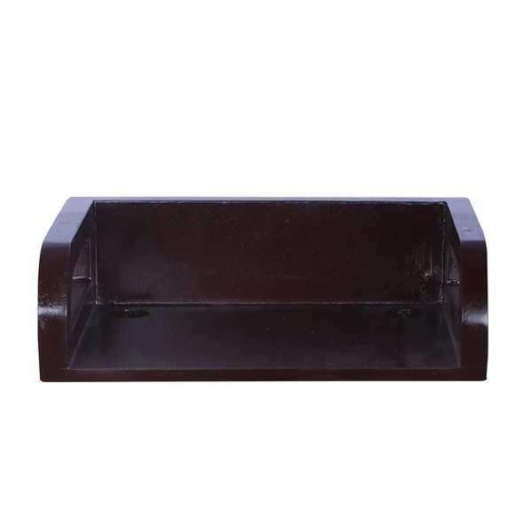 Wood Wall Mounted Set Top Box Holder