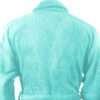 Premium Shawl Collar Cotton Bathrobe (Celestial Bathrobe, Aqua)