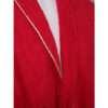 Celestial Soft Cotton Bathrobe (Red, Standard)