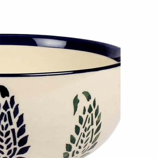 Handcrafted Ceramic Serving Bowl (Large)