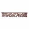 Decorative Brown Wooden Wall Shelf