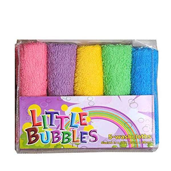 5 Piece Combo Napkin/Wash Cloth/Face Towels