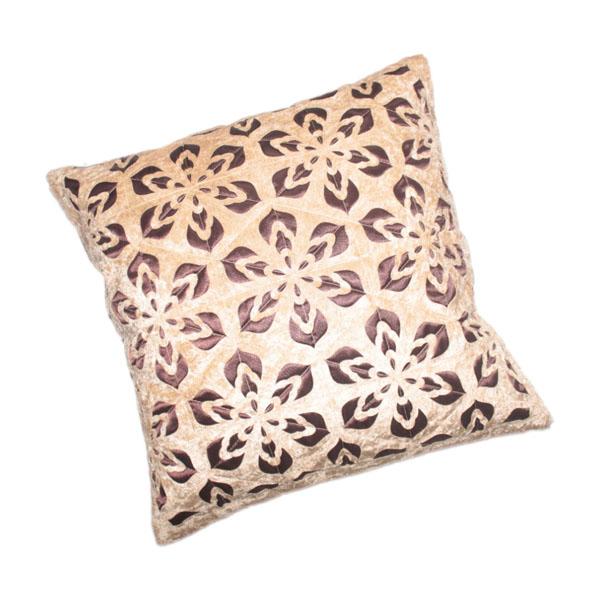 Floral Design Decorative Velvet Cushion Cover