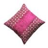 Velvet Cushion Cover with Pattern Design