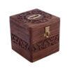 Handmade Wooden Square Money Box