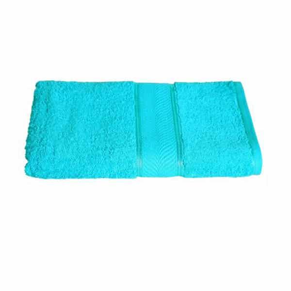 Cotton Bath Towel (Sky-Blue)
