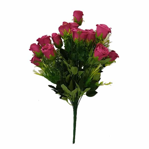Decorative Artificial Rose Flower Bunch