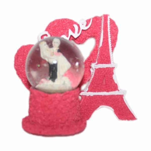 Love Couple Pairs Figurine Crystal Dome