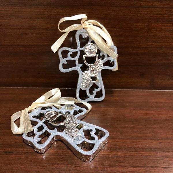 Religious Cross Design Showpiece