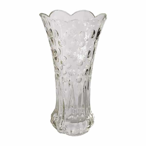 Unique Bubble Design Glass Vase