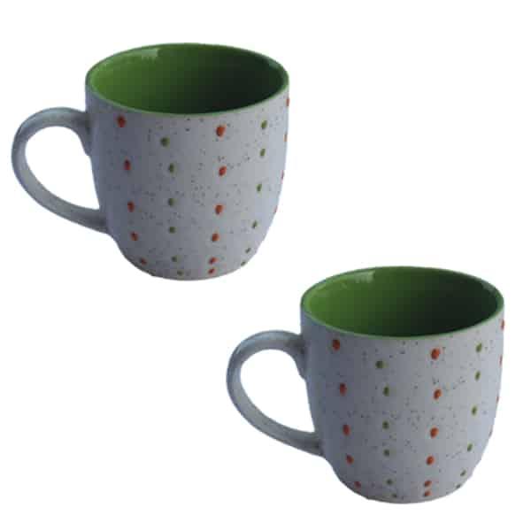 Round Shape Coffee Mug Set 6 Pcs