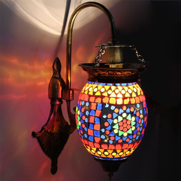 Handcrafted Hanging Wall Light