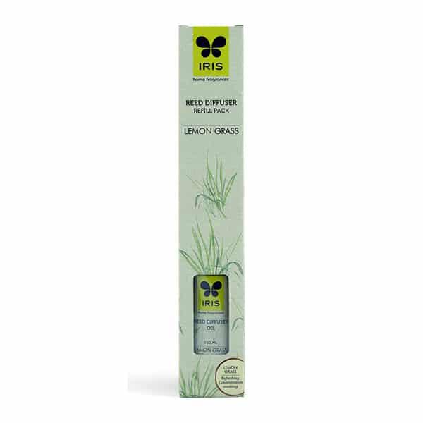 Reed Diffuser Refill Pack Lemon Grass Fragrance, 100ml