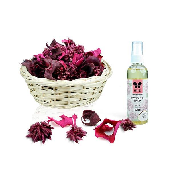 Potpourri Spray Rose Fragrance, 100 ml