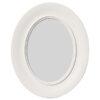 Oval Shaped White Photo Frame (13 x 18 cm)
